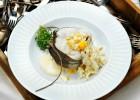 Kokt torsk-vitvinsås