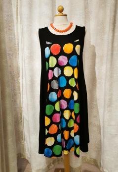 Baldino klänning viscose - Baldino klänning 22-545 size 36