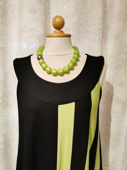 Baldino klänning viscose - Baldino klänning 18-456B size 40