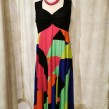 Baldino klänning viscose - Baldino klänning 32-279K size 42