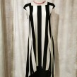Baldino klänning viscose - Baldino klänning 18-546B size 42