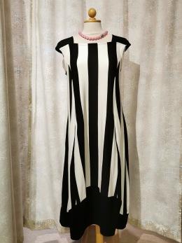 Baldino klänning viscose - Baldino klänning 18-546B size 38