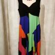 Baldino klänning viscose - Baldino klänning 32-279K size 44