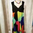 Baldino klänning viscose - Baldino klänning 32-279K size 46