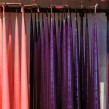 Lackade ljus 100% paraffin färg rosa, lila och cyclamen - 4-pack ljus  färg lila