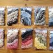 Veckans 5-pack unika färger garn 50% angora / 50% merino