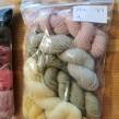 Veckans 5-pack unika färger garn 50% angora / 50% merino - 5-pack nr 9, 27 juni-4 juli