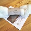 Veckans 5-pack unika färger garn 50% angora / 50% merino - 100g vitt garn inkl stickbeskr skuggstickad sjal