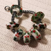 Trollbeads Christmas beads Uniques