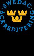 Ackreditering Swedac ISO/IEC 27001