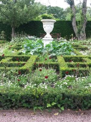 En vacker trädgård är hälsofrämjande