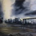 Postapocalyptic, Oil, Sold