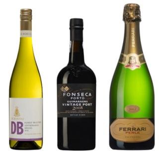 Decembervinerna fr.v. De Bortoli, Fonseca Guimaraens och Ferrari Perlé.