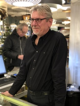 Mats Leksell, ägare till Elvaruhuset.