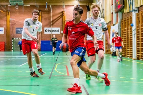 Oskar Nilsson, skyttekung i LSK med nio mål.  Foto: Matthew Tipple.
