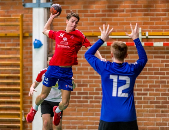 Oskar Nilsson, bäst i Lidingö med 10 mål. Foto: Matthew Tipple.