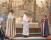 T v kontraktsprosten Staffan Hellstrand och biskop Eva Brunne hälsade Magnus välkommen som kyrkoherde.