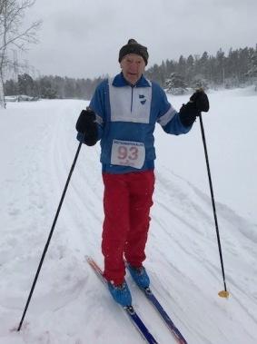 Eugen Rönnqvist slutade tvåa i den äldsta klassen.