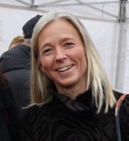 Anna Hadenius avgår. Foto: Lidingösidan