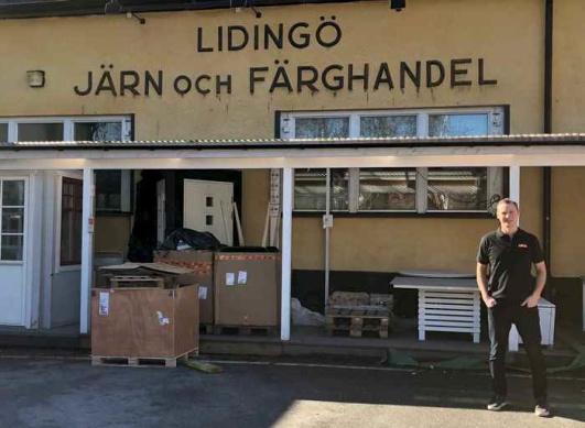 Lidingö Järn. Foto: Lidingösidan.