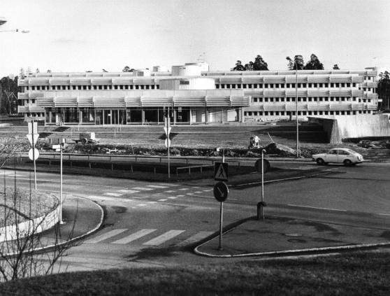1975 stod det nya stadshuset klart. Foto: Kurt Widell