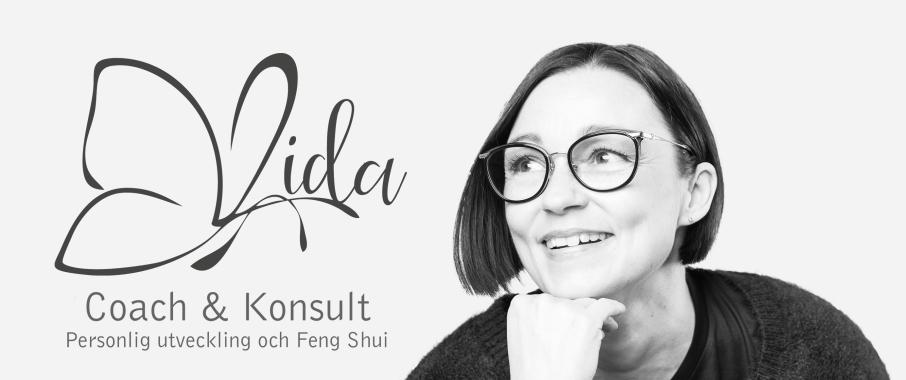 Vida Coach & Konsult i Varberg. Jag som driver Vida Coach & Konsult i Varberg heter Birgitta Frenzel och arbetar som livscoach och Feng Shui konsult med personlig utveckling i fokus.