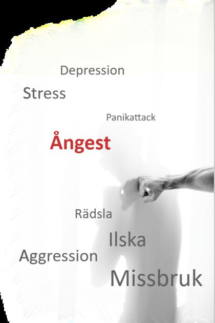 Depression, ångest, stress, panikattack, rädsla, ilska, aggression, missbruk