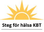 Steg för hälsa KBT