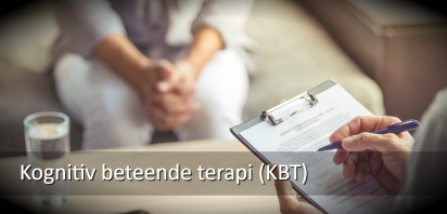 Kognitiv beteende terapi (KBT)