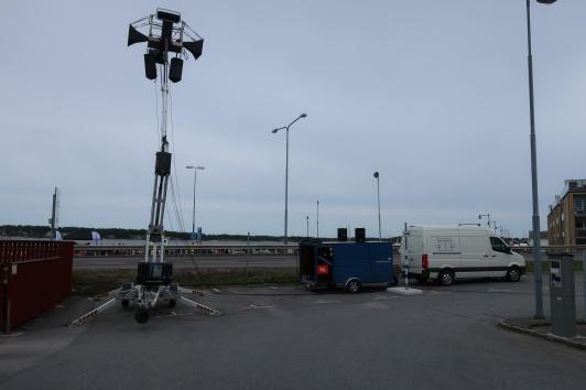 Community M4/M200 hornhögtalare i skylift