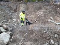 Dolor i Gammal sprängbotten  - Explosivhund Miljö & Säkerhet Sverige AB