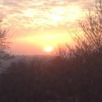 soluppgång på Lidingö 1