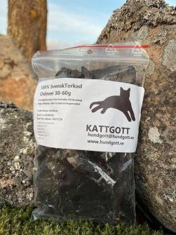 KATTGOTT Svensk Torkad Oxlever 10 st/påsar