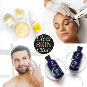 ClearSkin Clinic är en modern hudsalong i Halmstad som erbjuder estetisk hudvård och behandling med bl a Cryobehandling, Dermapen4, Microneedling mm.