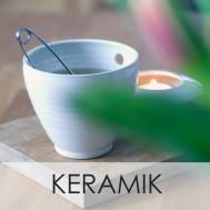 Keramik, Single cup och ett ljus