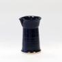 Slät - handdrejad mjölksnipa svart - H 13,5 cm