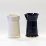 Slät - handdrejad mjölksnipa svart