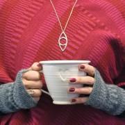 Hjärtansfröjd - handdrejad kopp