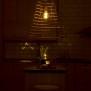Wish lampa handgjord i rotting. Liten