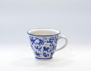 Virrvarr - handdrejad kopp - Virrvarr kaffekopp