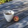 Single Cup - handdrejad kopp