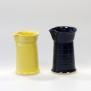 Självklar - handdrejad mjölksnipa gul