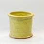 Avtryck - kruka gul stor