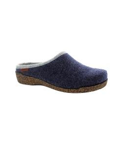 Rita marinblå, slip in toffel med utbytbar sula - Stl 36