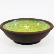 Avtryck - skål grön
