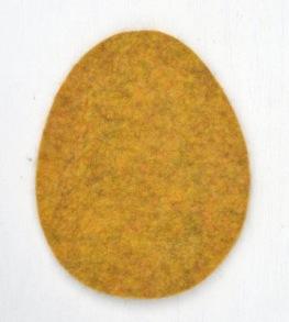 Grytunderlägg - ägg - Lejongul