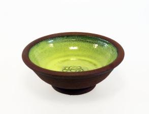 Avtryck - skål mini grön -