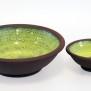 Avtryck - skål mini grön