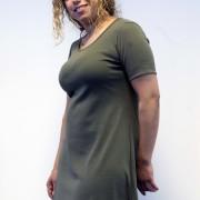 Klänning kapris A-linje
