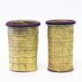 Avtryck - vaser gula - H 19,5 cm D 12 cm